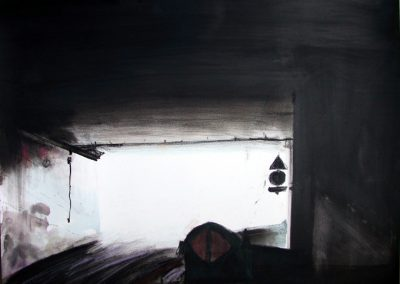 Sortie de Tunnel - 2005 • Oil on canvas • ? x ? cm