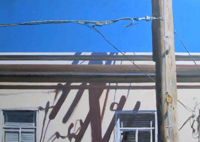 SF Shadows - 2006 • Oil on canvas • 122 x 60 cm