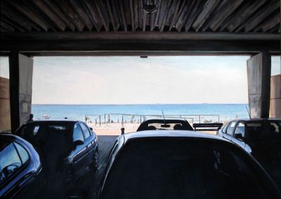 Cars - 2009 • Oil on canvas • 140 x 140 cm
