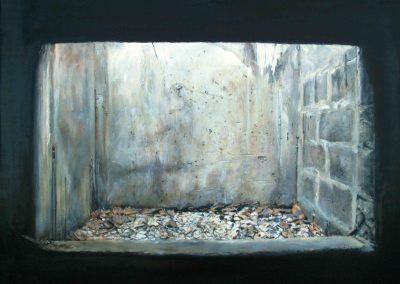Dry Aqua - 2009 • Oil on canvas • 140 x 140 cm