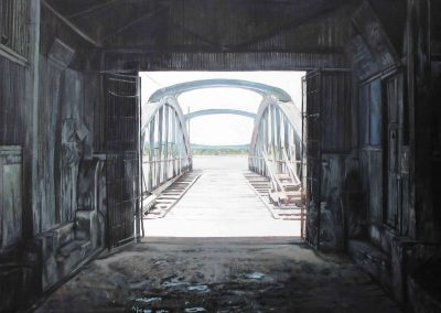 L'autre Rive - 2009 • Oil on canvas • 140 x 140 cm