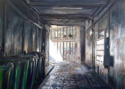 Letter Boxes - 2009 • Oil on canvas • 140 x 140 cm