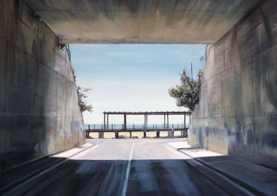 Playa Passage  - 2009 • Oil on canvas • 100 x 100 cm