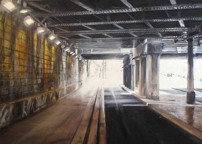 Porte Briancon - 2009 • Oil on canvas • ? x ? cm