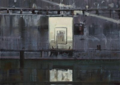 Sub base - April 2015 • Oil on canvas • 60 x 120cm