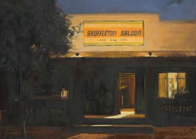 Suffelton saloon - Mai 2015 • Oil on canvas • 81 x 100cm