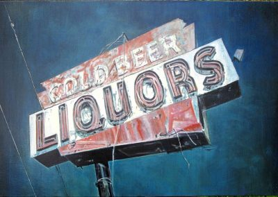 Cold Beer - Oct. 2012 • Oil on canvas • 130 x 88 cm