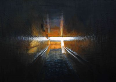 E-Halte - Dec. 2010 • Oil on canvas • 142 x 97 cm