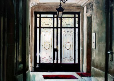 Entrée - Jun. 2011 • Oil on canvas • 162 x 114 cm