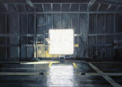 Exit 61 - Nov. 2010 • Oil on canvas • 145 x 97 cm