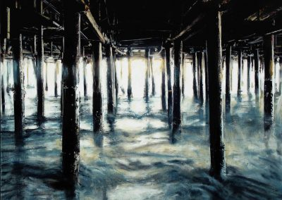 High Tide - 2011 • Oil on canvas • 140 x 140 cm