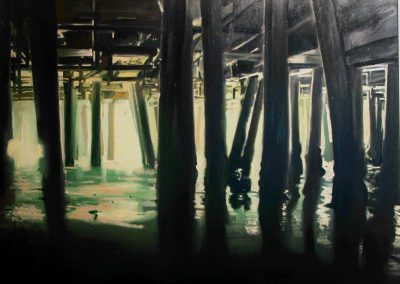Light Pier - 2012 • Oil on canvas • 100 x 120 cm