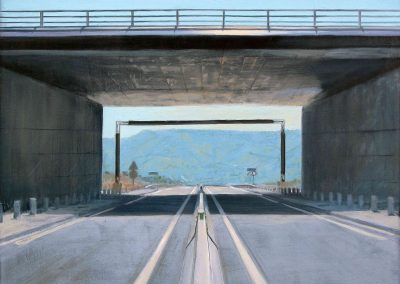 Millau - 2010 • Oil on canvas • 100 x 100 cm