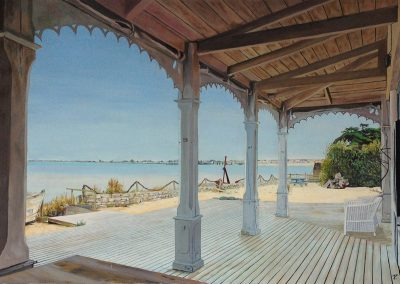 Noirmoutier - 2010 • Oil on canvas • ? x ? cm