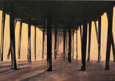 Pismo Pier - Mar. 2013 • Oil on canvas • 130 x 88,5 cm