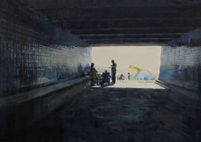 Porto - 2010 • Oil on canvas • 130 x 90 cm