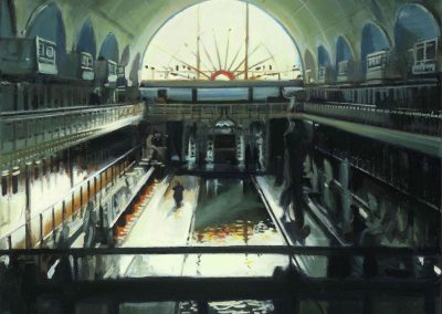 Roubaix's Pool - Nov. 2013 • Oil on canvas • 100 x 80 cm