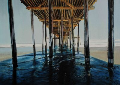Ventura Pier - Jul. 2013 • Oil on canvas • 116 x 80,8 cm