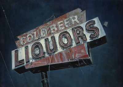 Cold Beers - 2013 • Oil on canvas • 130 x 89