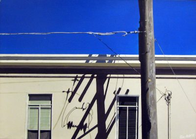 SF Shadows - 1988 • Oil on canvas • 65 x 90