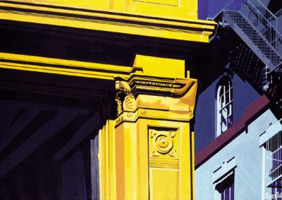 Yellow Building New York - 1988 • Oil on canvas